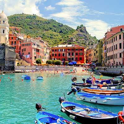 Cinque Terre i Ligurien