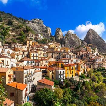 Seværdighed i Basilicata