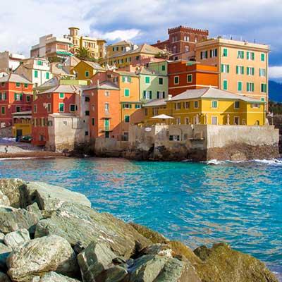 Genova i Ligurien