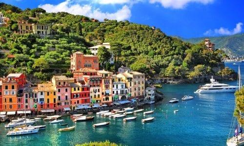 byer ved den italienske riviera