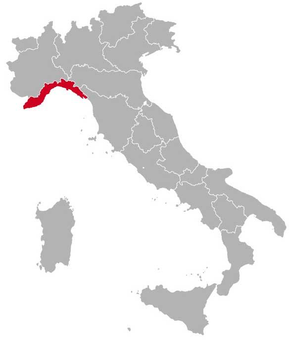 Her ligger Ligurien