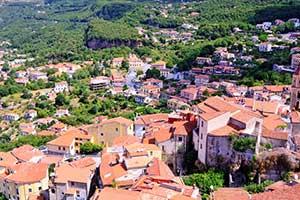 Maratea udsigt i Basilicata