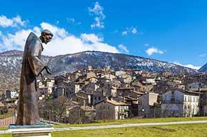 Landsbyen Scanno