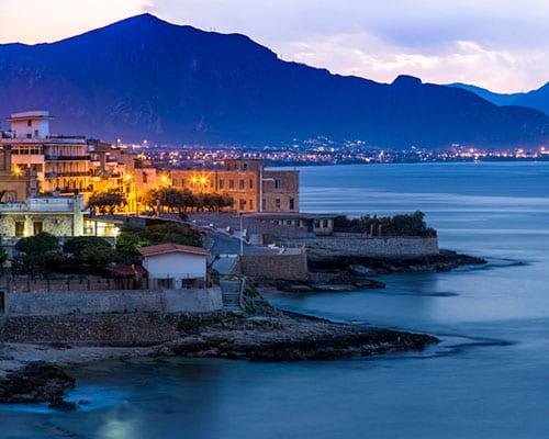 Palermo på Sicilien