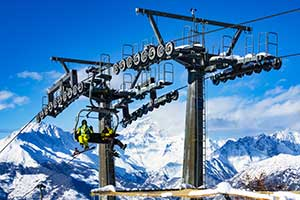 pila skisport
