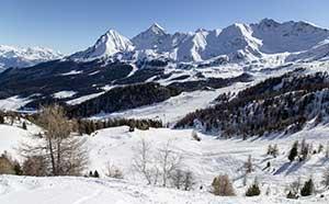 skisport i aostadalen