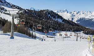 skisport i italien