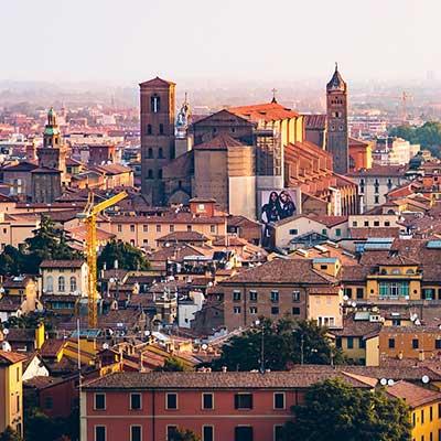 Bologna i Emilia-Romagna