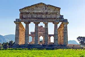 Turistattraktion i Paestum