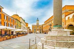 Ravenna i Emilia-Romagna