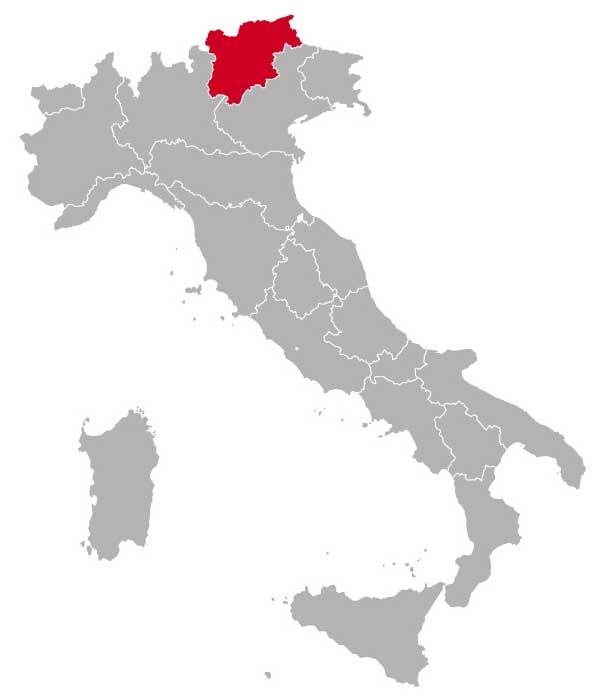 Her ligger Trentino-Alto Adige
