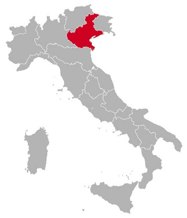 Her ligger Veneto