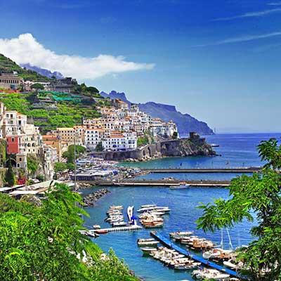 Amalfi kysten