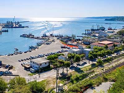 Ortona havn