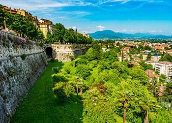 Den venetianske mur i bergamo