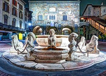 contarini springvandet på piazza vecchia