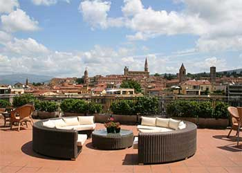 Hotel Continentale i Arezzo