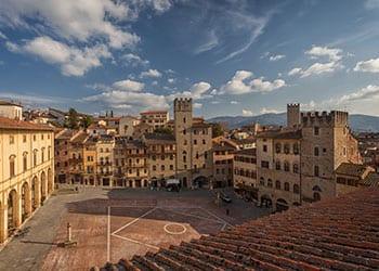 Piazza Grande i Arezzo
