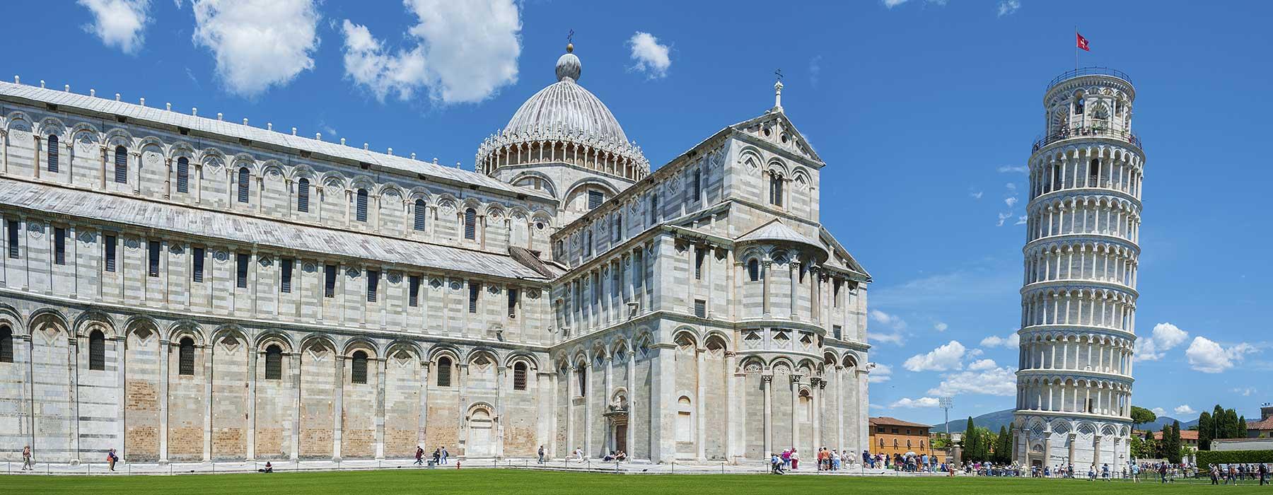 Pisa og det skæve tårn