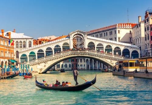Rialtobroen i Venedig