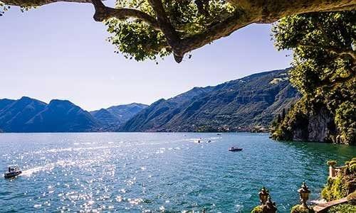 Ferie ved Comosøen