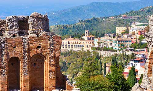 Ferie i Taormina