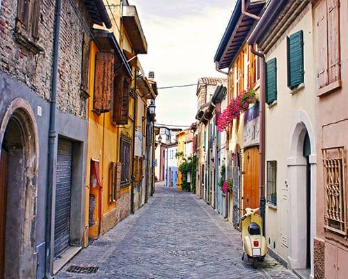 Kør selv ferie i Rimini