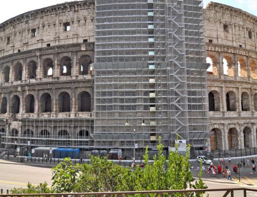 Restaurering af Colosseum 1. del