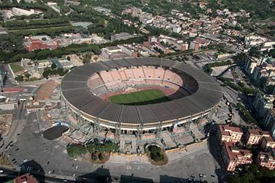 San Paolo stadion i Napoli