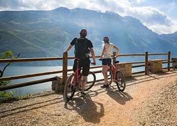 Cykling ved Gardasøen