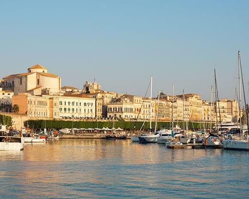 Siracusa på Sicilien