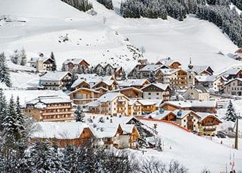 Canazei i Trentino Alto Aldige
