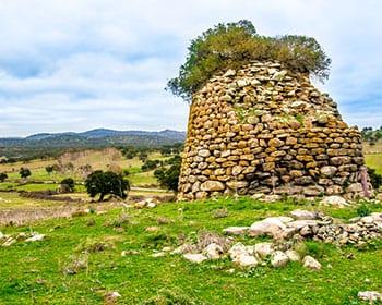 Nuraghe Sardinien