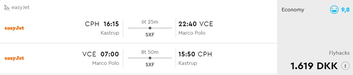 flybilletter rom